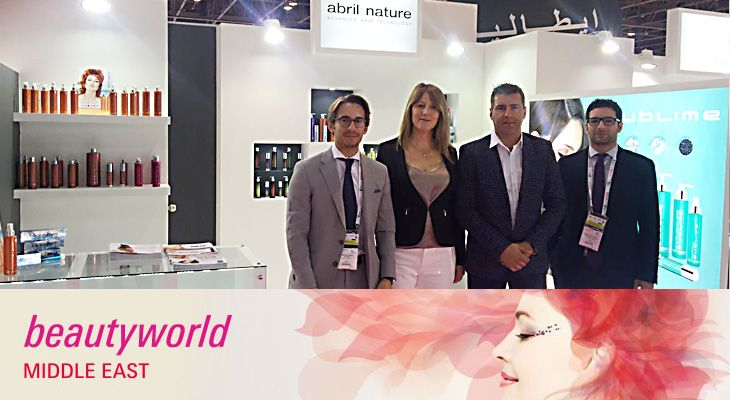 abril et nature en la beaytyworld 2016 Dubai